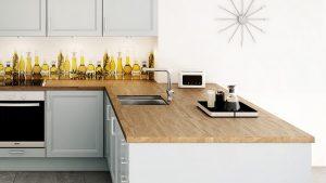 tipos de encimeras para tu cocina madera